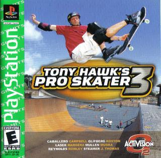 Screenshot Thumbnail / Media File 1 for Tony Hawks Pro Skater 3 [U]